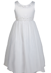 Satin Communion Dress