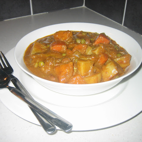 Indian Style Vegetable and Legume Curry August 28, 2010