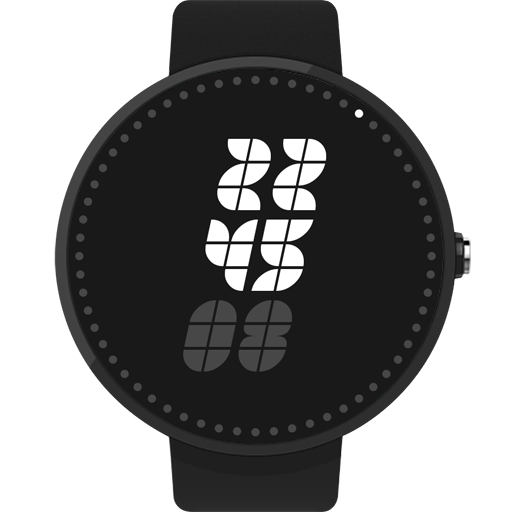 MonoChrono Watch Face FWF