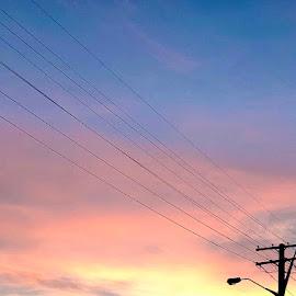 Morning sky  by Angela Taya - Instagram & Mobile Instagram