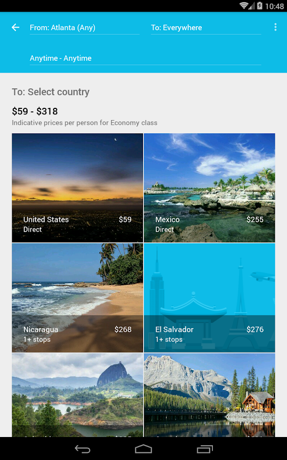 Skyscanner Screenshot 14