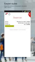 Screenshot of Můj Vodafone