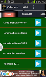 Vallenato Music Radio - screenshot