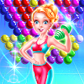 Fitness Girl Bubble