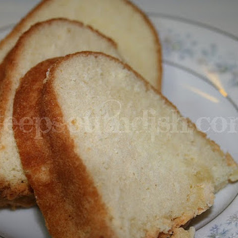Grandma Mac's Perfect Southern Pound Cake