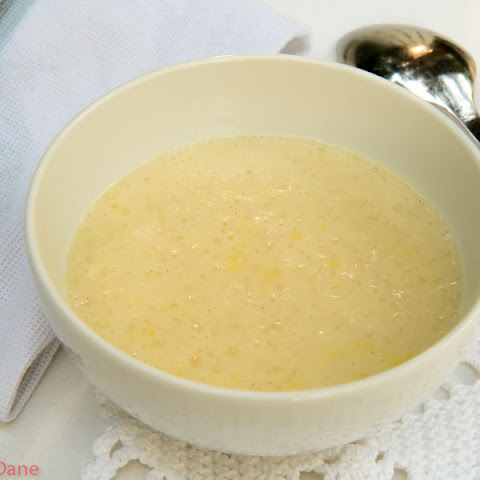 Tapioca Porridge with Lemon and Vanilla