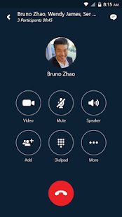 Skype for Business for Android Business app for Android Preview 1