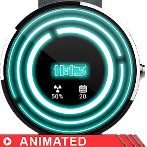 Glowing ElecTRONic Watch Face