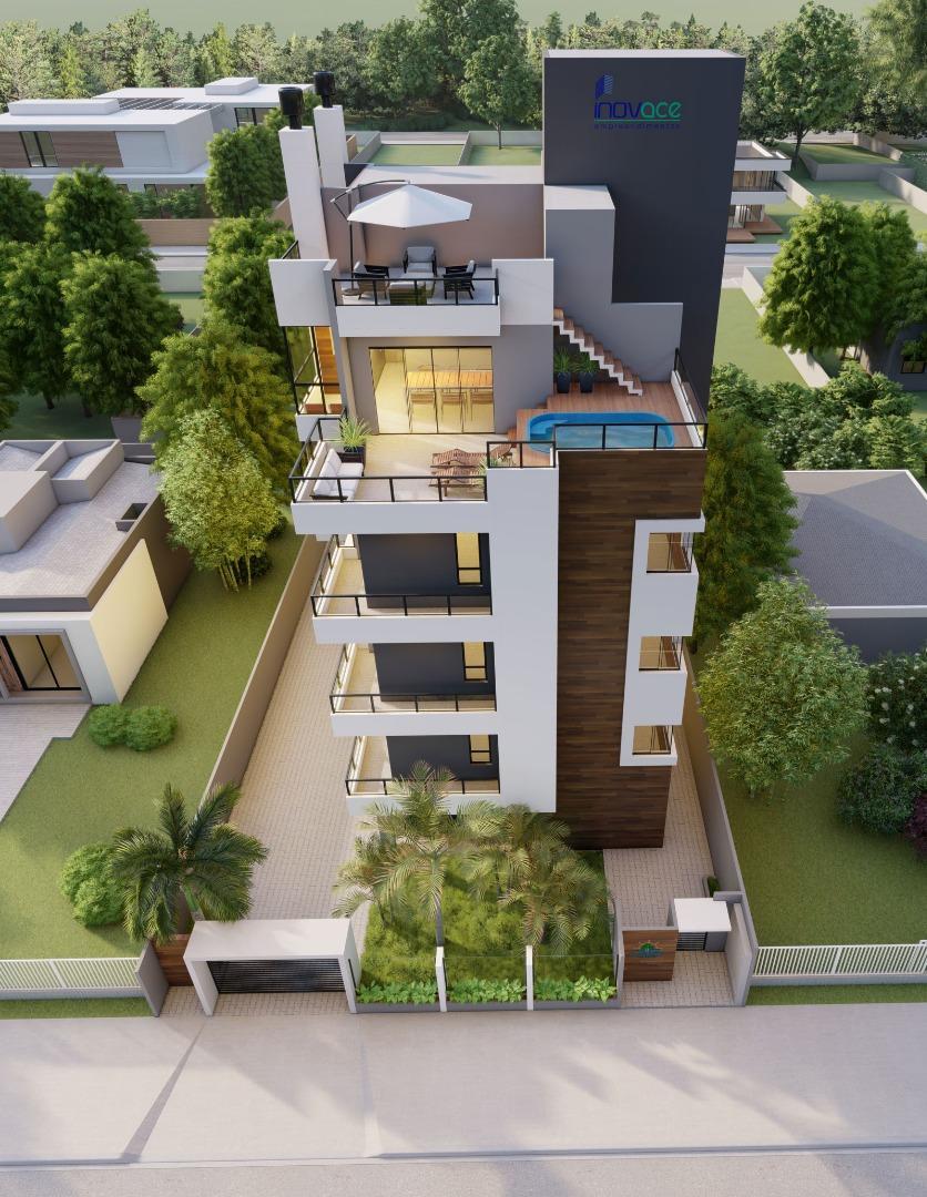 Apartamento com 3 dormitórios à venda, 84 m² por R$ 362.748 - Jardim Perola do Atlântico - Itapoá/SC