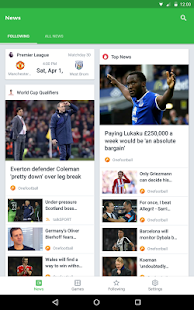 Onefootball Live Soccer Scores APK for Bluestacks
