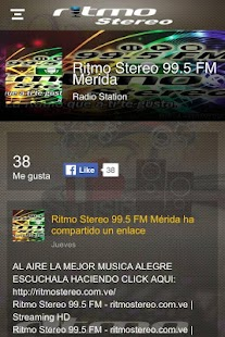 Ritmo Stereo 99.5 FM - screenshot