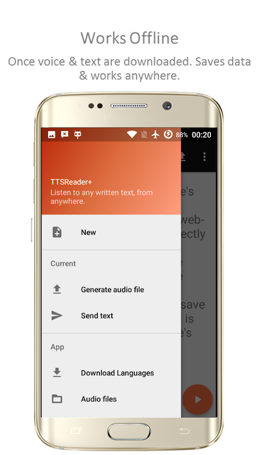 TTSReader Pro - Text To Speech Screenshot 7