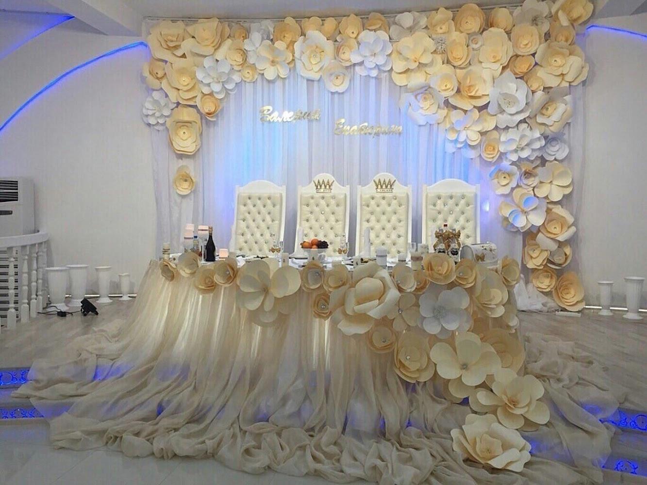 Для зала на свадьбу ростов