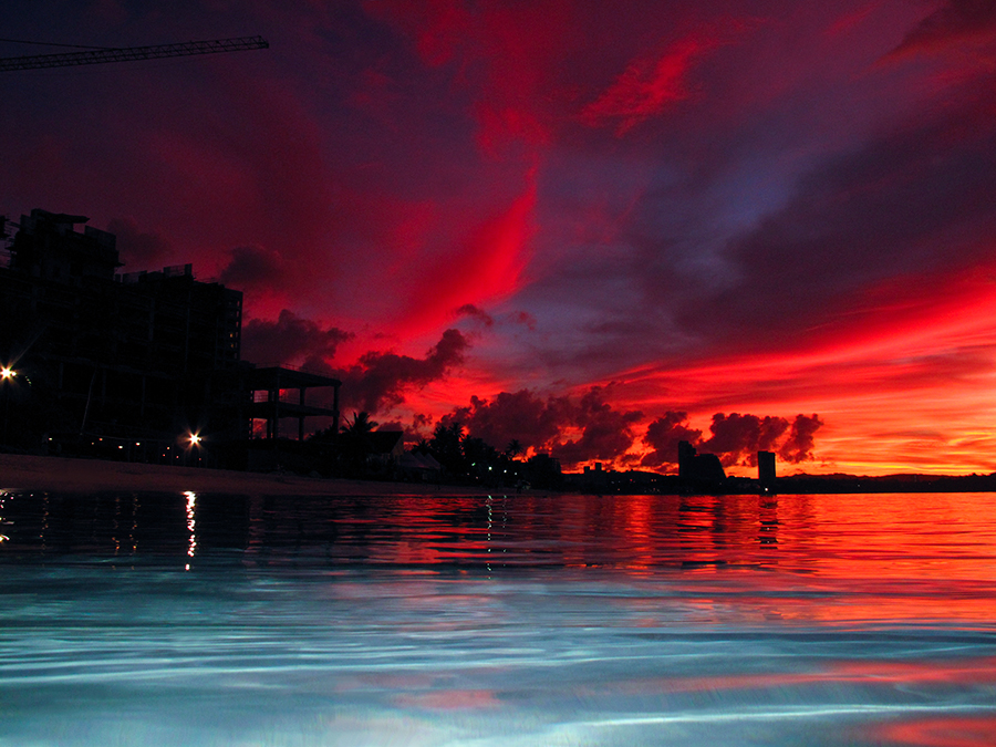 Red Flame by Brandon Mardon - Landscapes Waterscapes