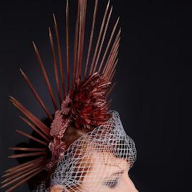 Sharp crown by Michaela Firešová - People Portraits of Women ( decoration, crown, bride, portrait )