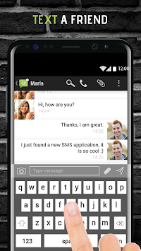 SMS From Android 4.4 APK screenshot thumbnail 5