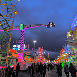 by Felice Bellini - City,  Street & Park  Amusement Parks ( amusement park, amusement, genova, city )