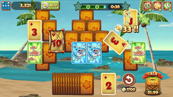Solitaire TriPeaks for Lollipop - Android 5.0