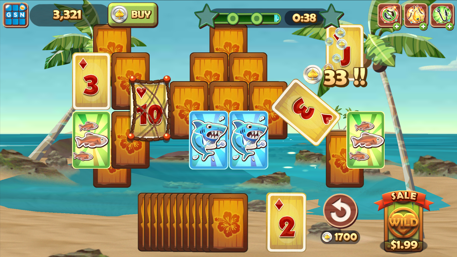 Solitaire TriPeaks Screenshot 11