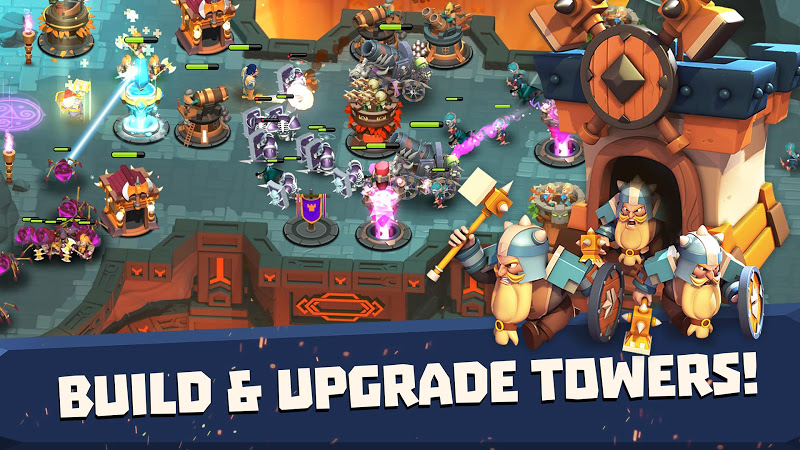 Castle Creeps TD - Epic tower defense Screenshot 2