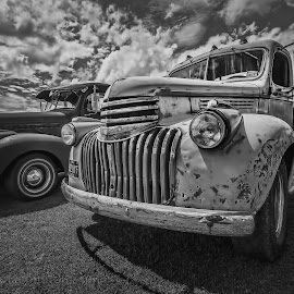 Battered by John Lockie - Transportation Automobiles ( classic car, truck, chevrolet, american, cars )