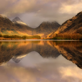 Lochan Urr by Wolfy Pic - Landscapes Mountains & Hills