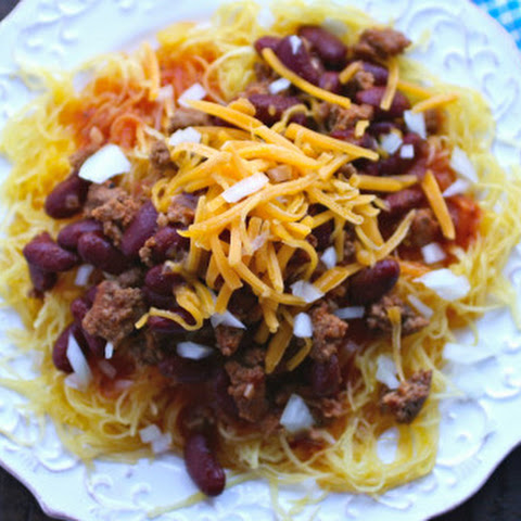 Cincinnati-style Chili With Spaghetti Squash