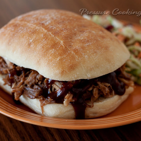 Easy Pressure Cooker Pulled Pork