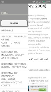 Belarus Constitution - screenshot