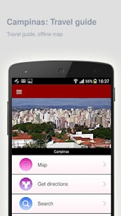 Campinas: Offline travel guide - screenshot