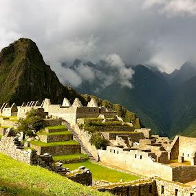 Machu Picchu  by Sloane Sheldon - Landscapes Travel