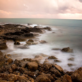 cloud on the rocks by Samet Işık - Landscapes Waterscapes