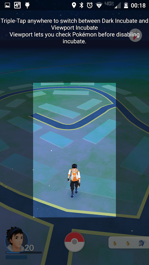 Keep Alive for Pokémon GO Screenshot 5