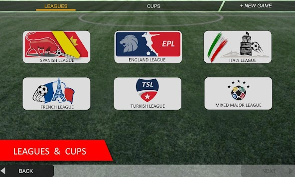 Mobile Soccer League apk screenshot