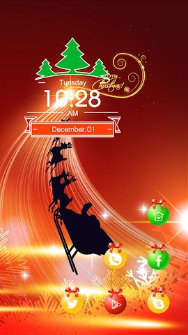android Christmas light Screenshot 0