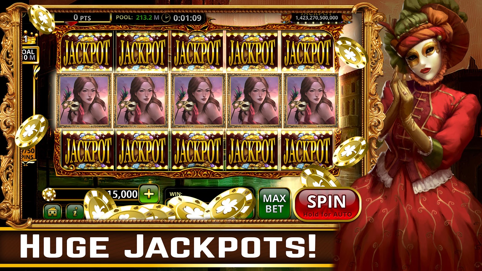 Hot Vegas SLOTS- FREE: No Ads! Screenshot 12
