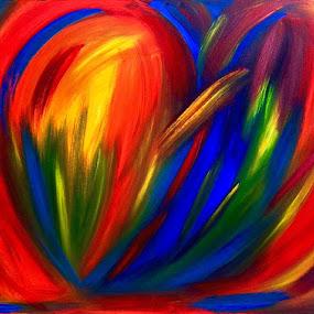 COLOURES od my HEART by Zoritza  Wejnfalk - Painting All Painting ( abstrct, art, zoritza, zozo, wejnfalk )