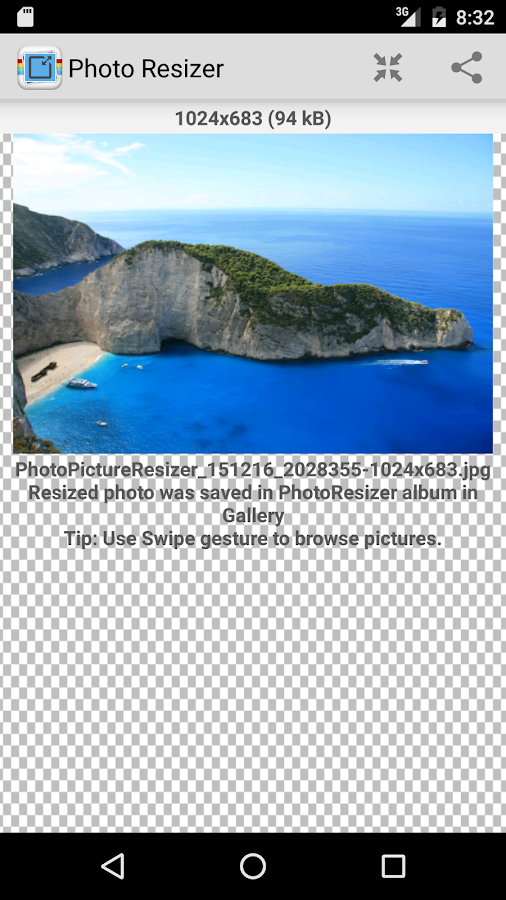 Photo & Picture Resizer Screenshot 3