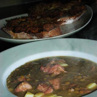 Parsnip Potato Lentil Soup Recipes