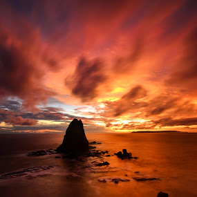 Papuma Beach by Hery Sulistianto - Landscapes Sunsets & Sunrises (  )