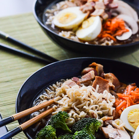 Bacon Miso Ramen #SundaySupper
