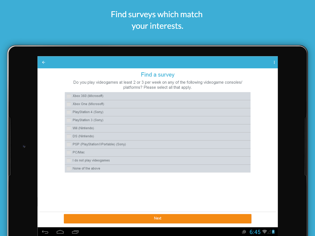 iPoll – Make money on surveys Screenshot 4