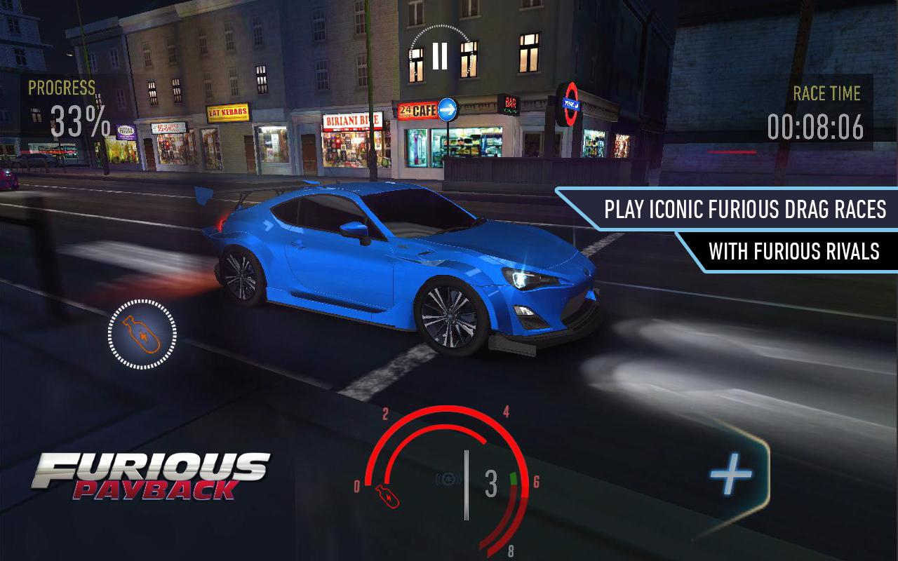 Furious Payback Racing android spiele download