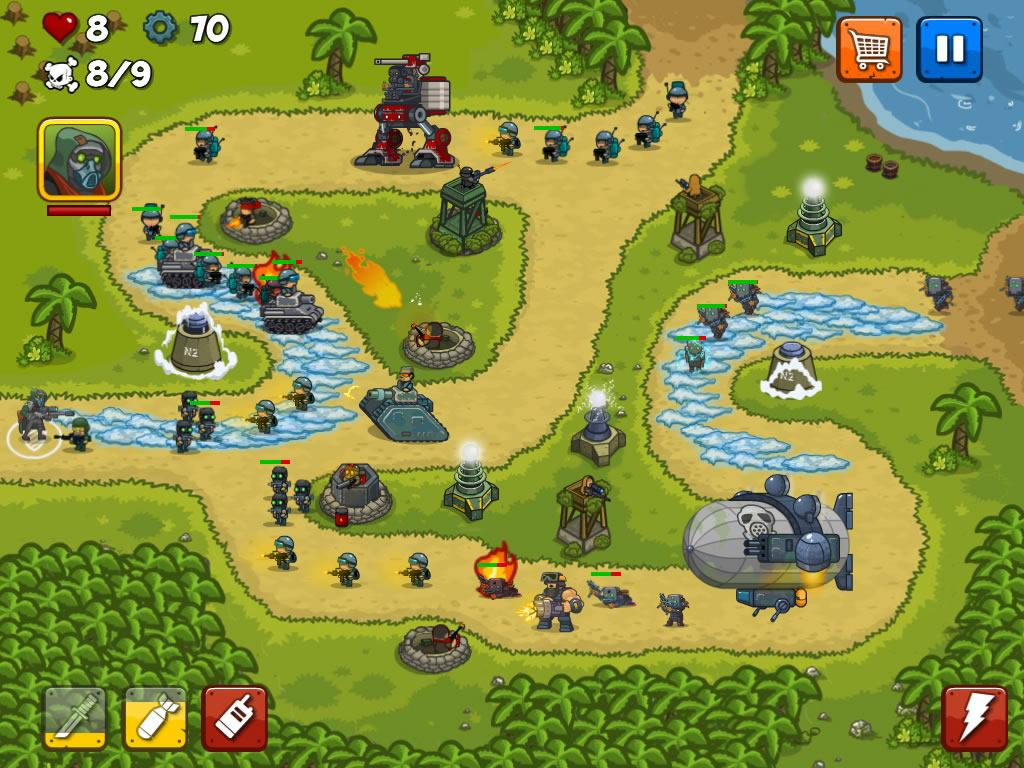 Combat Tower Defense Screenshot 14