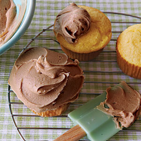 Old-Fashioned Caramel Cupcakes