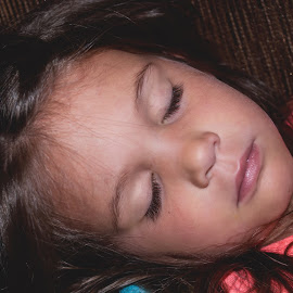 Sleeping Beauty by Jamie Hodge - Babies & Children Children Candids ( innocent, beautiful, rest, sleep, niece )