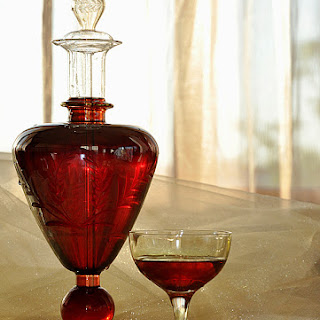 Home-made Sour Cherries Liqueur