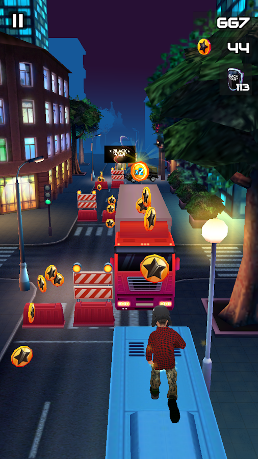 Black Star Runner Screenshot 2
