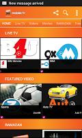 Screenshot of Banglalink Mobile TV