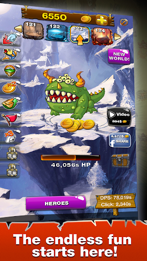 Clicker Wars - screenshot